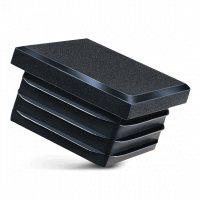 Lamellenstopfen für Quadratrohre 50x50mm
