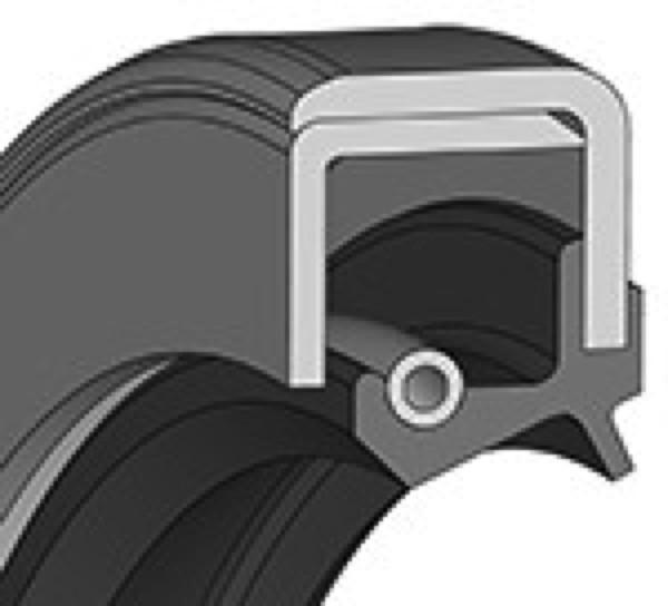Wellendichtring 100x125x13mm NBR Bauform CS