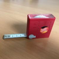 BMI Taschenbandmaß IN-OUT 3m