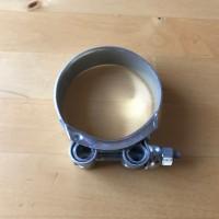Gelenkbolzenschelle 140-148mm / 26mm Stahl verzinkt (W1) chromatiert