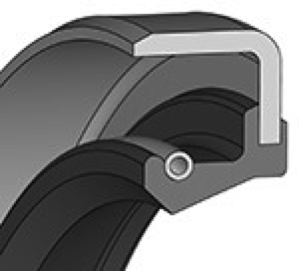 Wellendichtring 40x80x13mm NBR Bauform B