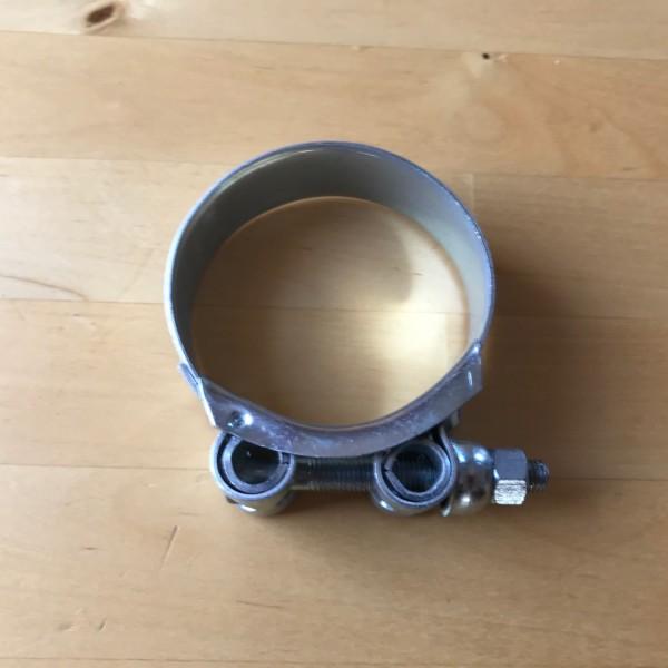 Gelenkbolzenschelle 176-184mm / 25mm Stahl verzinkt (W1) chromatiert