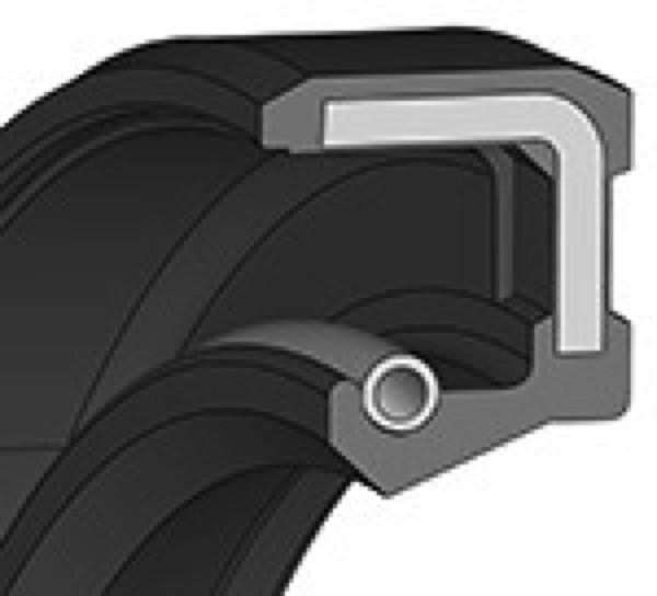 Wellendichtring 15x42x7mm FKM Bauform A