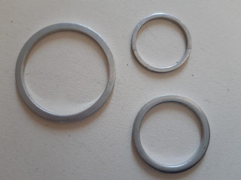 Flachdichtungsring 20x24x1,5mm Aluminium