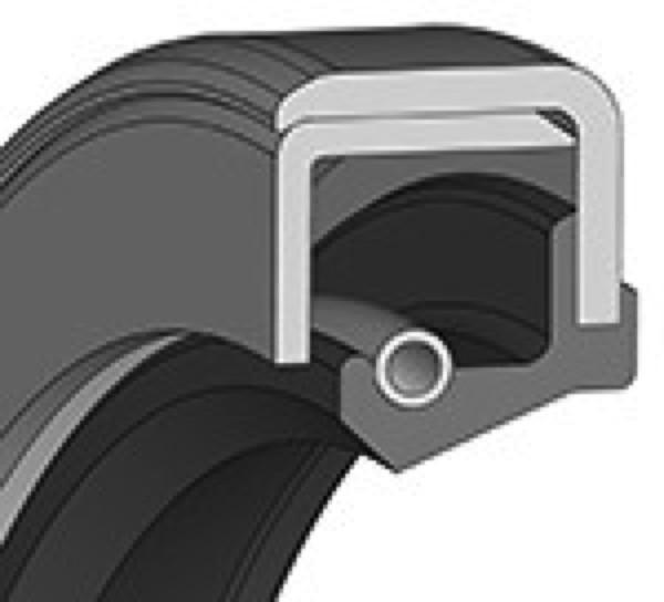 Wellendichtring 125x150x12mm NBR Bauform C