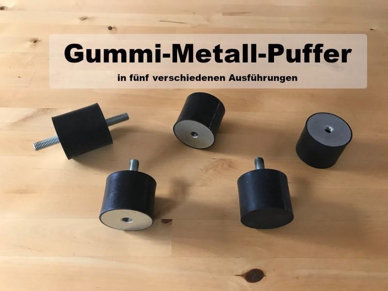 Gummi-Metall-Puffer
