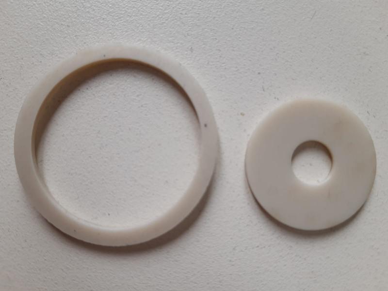 Flachdichtungsring 8,5x25x2mm PVC