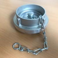Storz Blindkupplung 90 mit Kette Leichtmetall