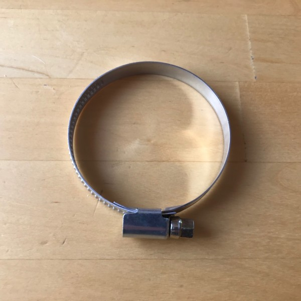 Schneckengewindeschelle 40-60mm / 9mm Edelstahl V2A (W4)