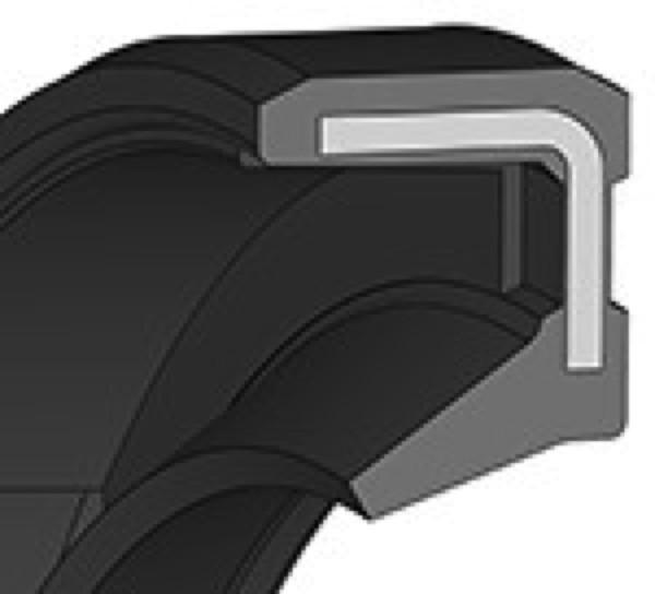 Wellendichtring 30x37x4mm NBR Bauform AO